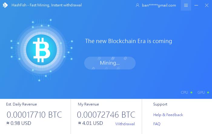 GitHub - bandusix/HashFish: Fast mining, Instant withdrawal