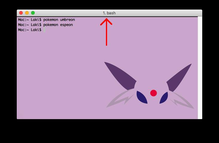 GitHub - LazoCoder/Pokemon-Terminal: Pokemon terminal themes