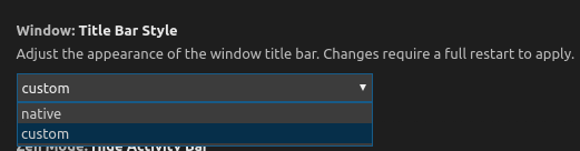 Global menu in Unity does not work anymore in VSCode 1 30 0