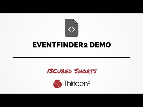 EventFinder2 Demo