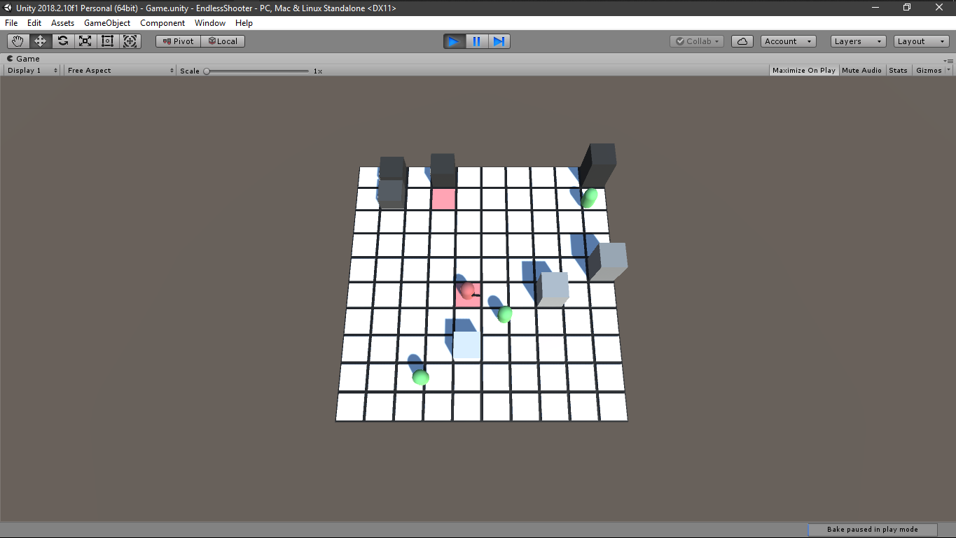GitHub - tan-90/EndlessShooter: A game created when I took a Unity