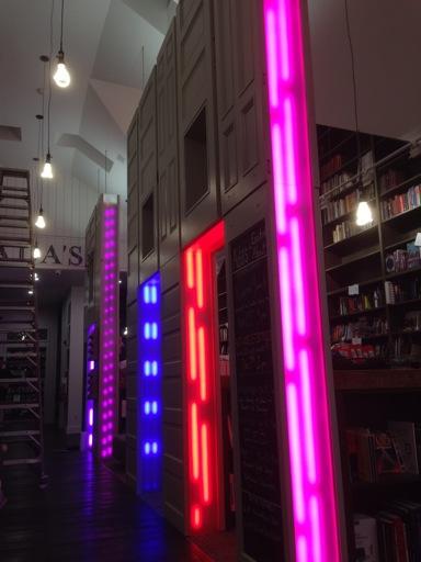 Medusa prototype installation at Ada's Technical Books, Seattle, WA, USA