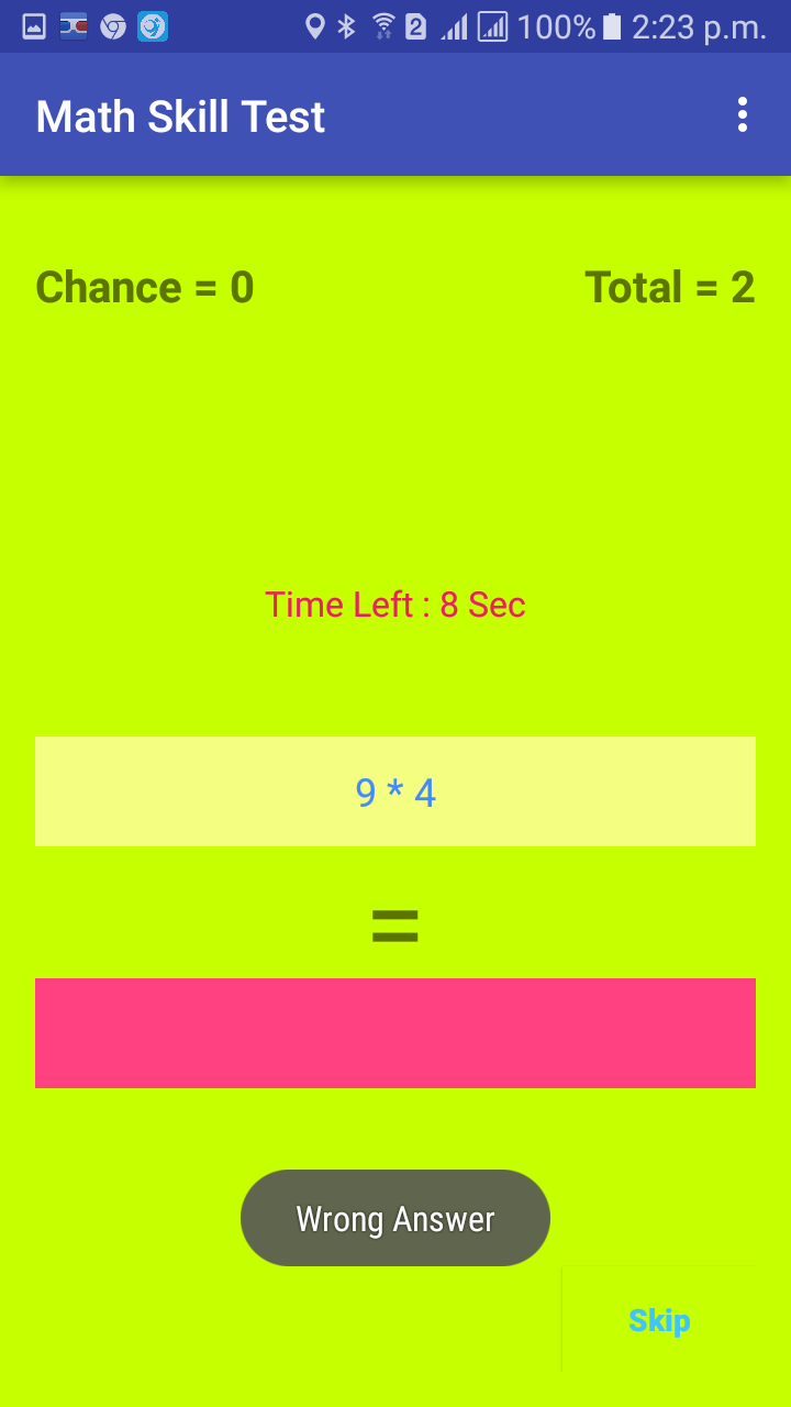 GitHub - ashraf789/Math-Skill-Tester-Game: A Andorid Quize game