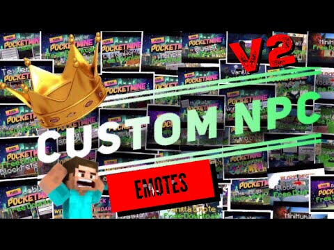 CustomNPC plugin pocket-mine 1.17.X