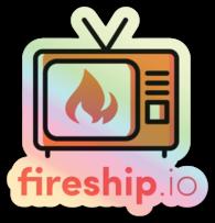Fireship Sticker