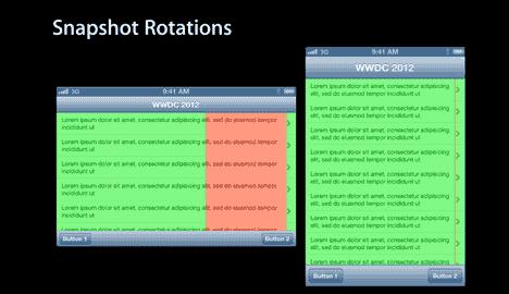 Snapshot rotation