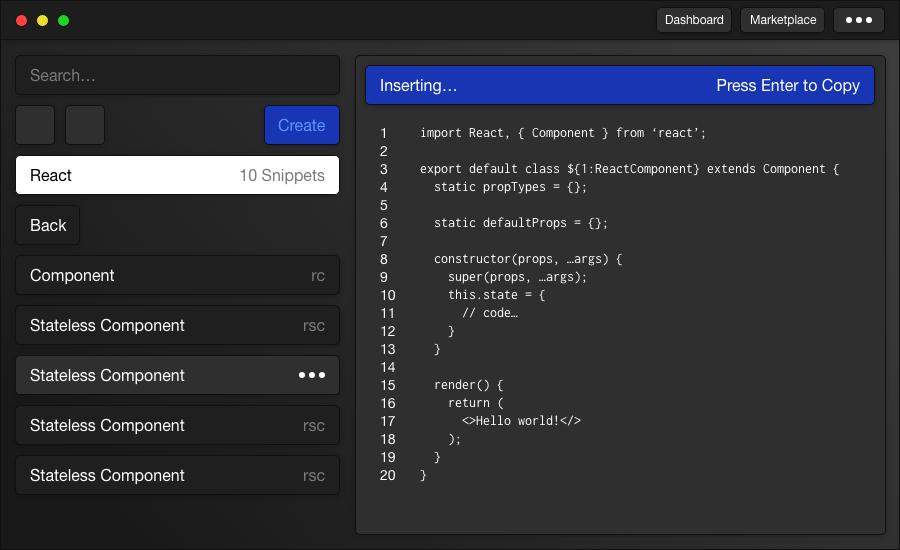 Forge Screenshot