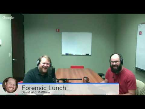 Pancake Talk on the Forensic Lunch