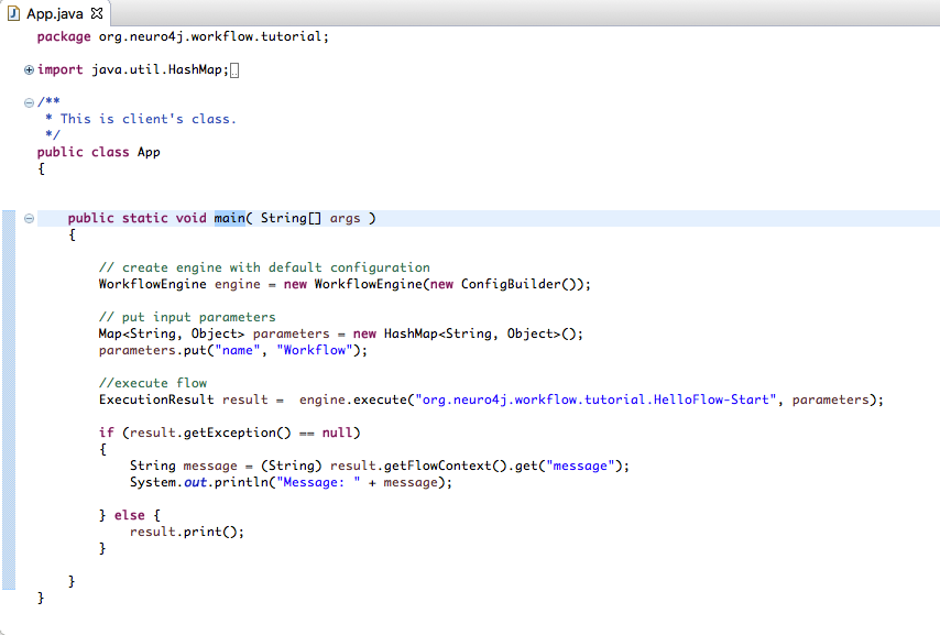 Java code license example hello world peatix java code license example hello world gumiabroncs Gallery