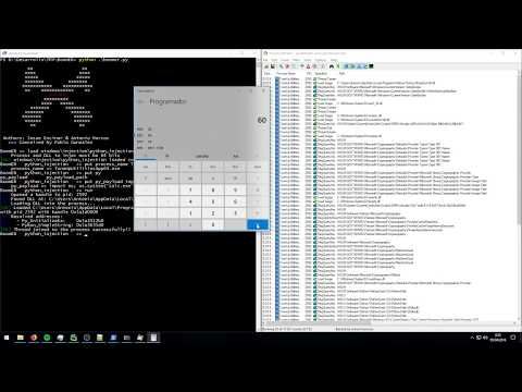 Python script + DLL Injection with BoomER