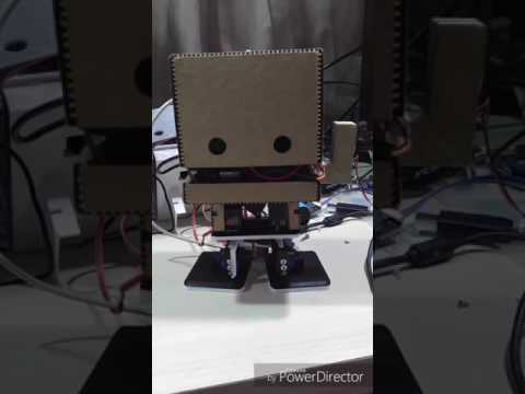 TJBot with legs