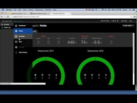 Vagrant Cassandra Multi Datacenter Screencast