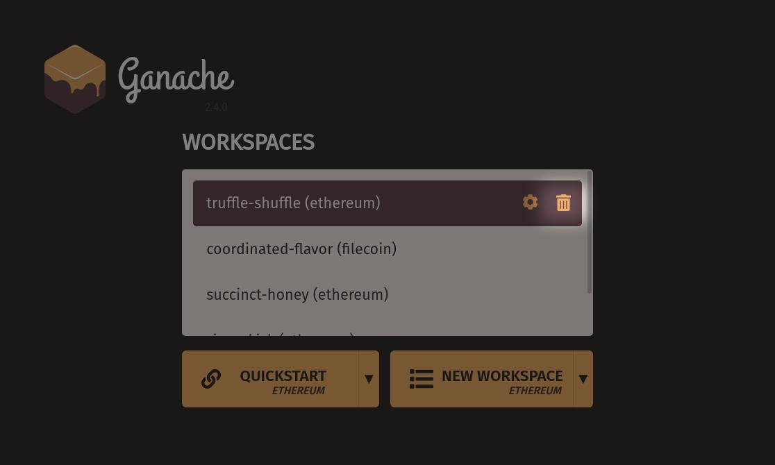 Delete Workspace