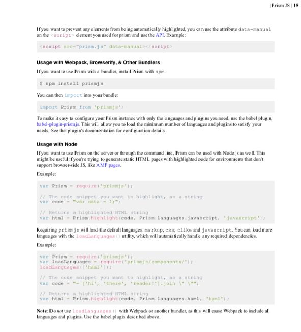 GitHub - jason-fox/fox jason prismjs: An integration of
