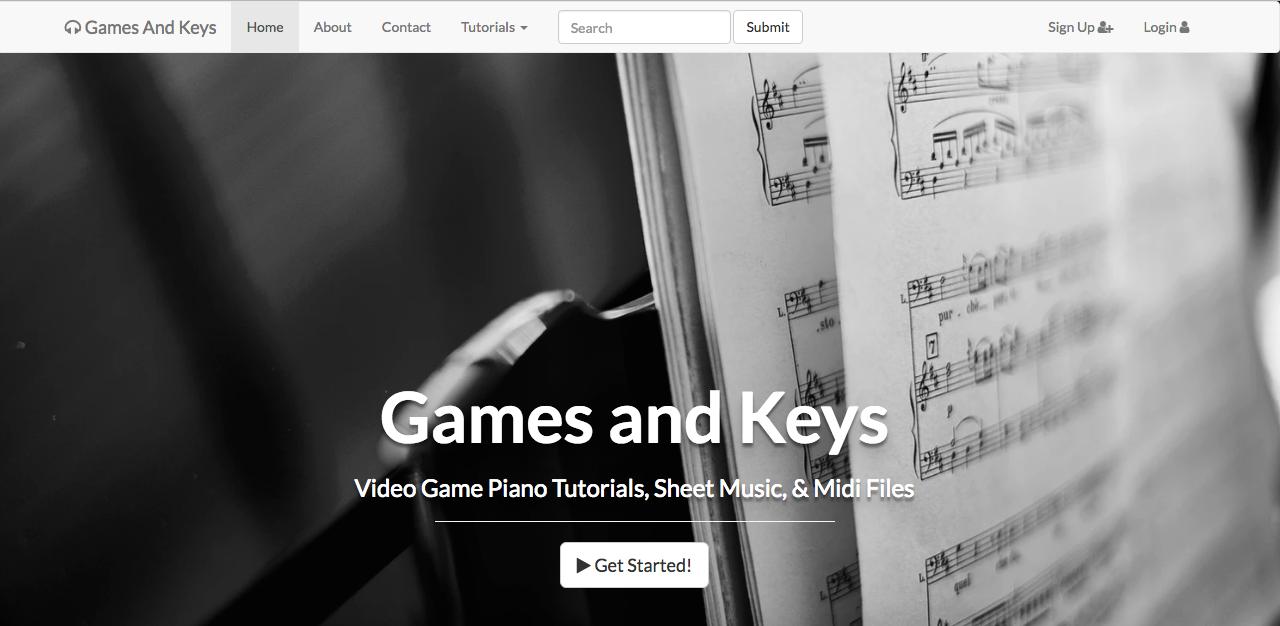 GamesAndKeys Blogger page