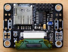 OLED128 PCB Back