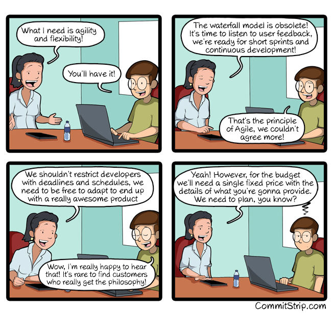 That little problem with Agile...