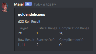 d20 Rolls