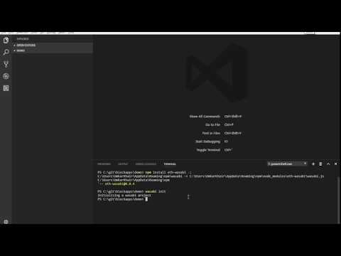 Building and Deploying contracts with Wasabi