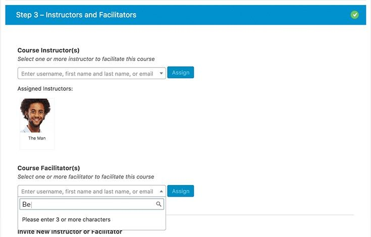 Assign multiple moderators and instructors to support your students.