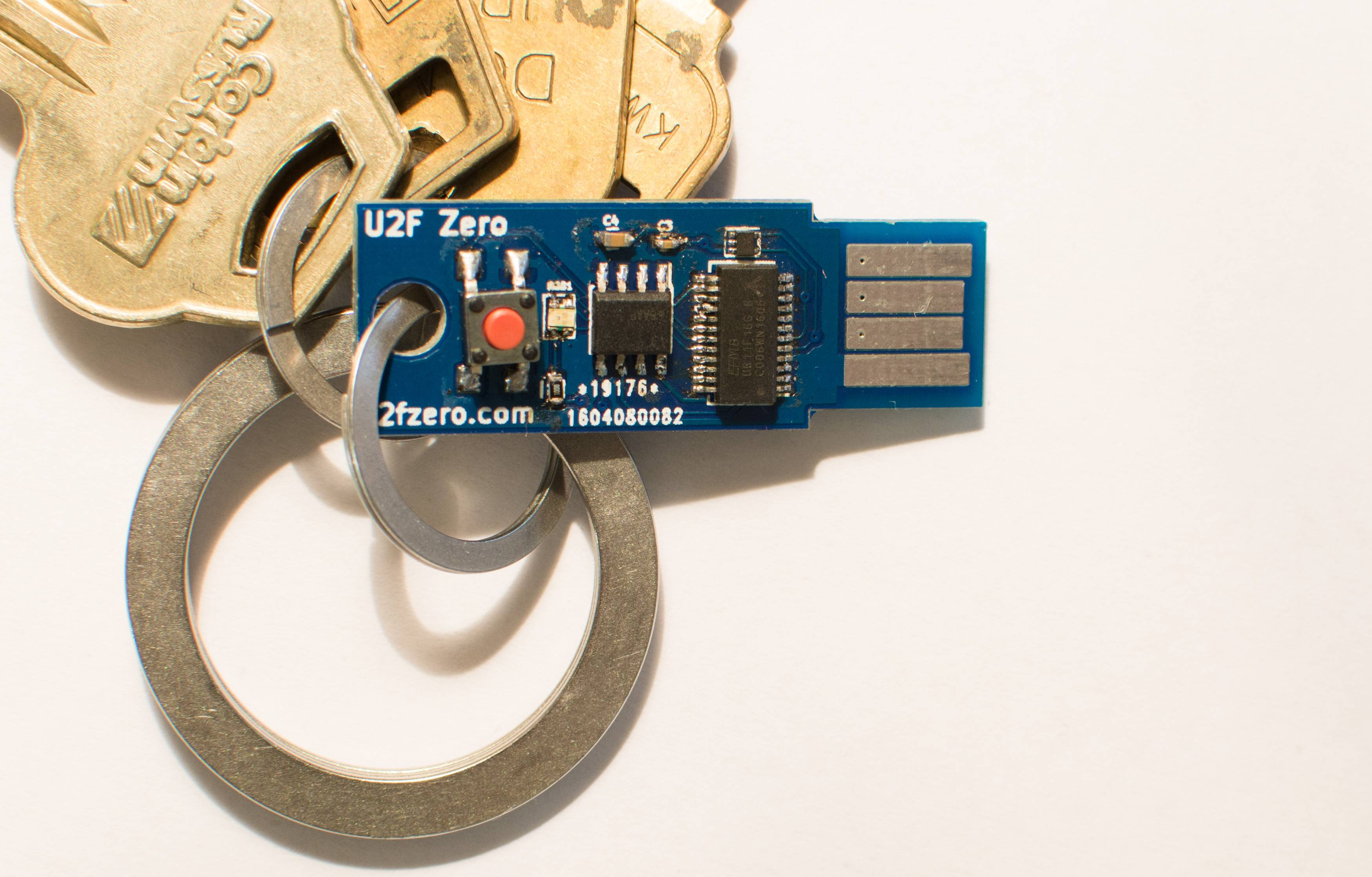 Github Conorpp U2f Zero Usb Token Optimized For Physical How To Build Electronic Security Door Key You