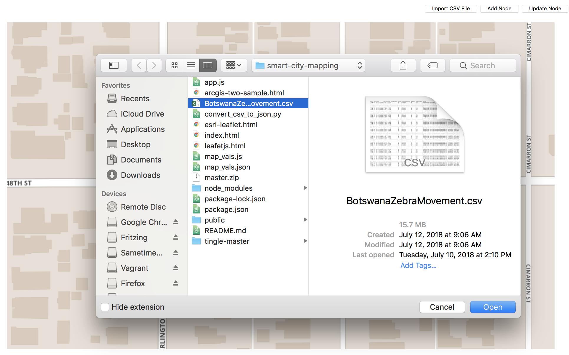 GitHub - IBM/iot-mapping: Node js application that tracks