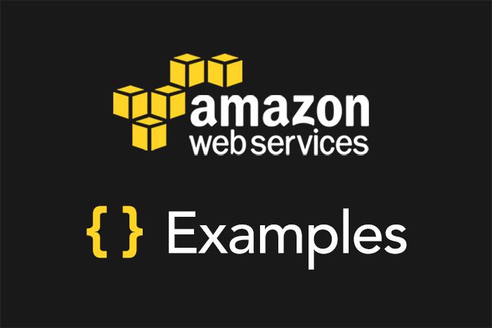 Serverless Framework AWS Lambda Examples