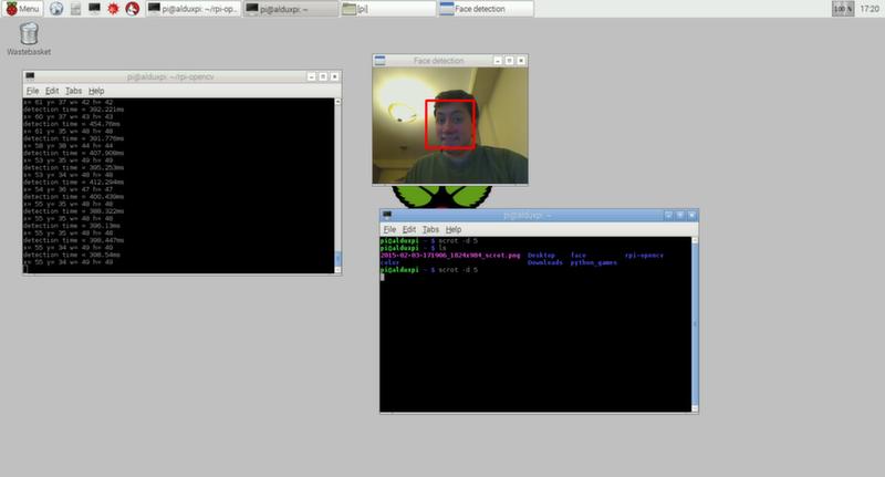 Face Detection Opencv Python Raspberry Pi