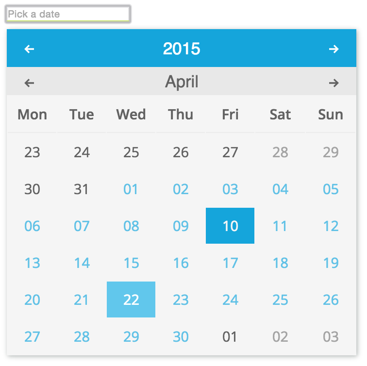 GitHub - mobinni/material-date-picker: A simple material datepicker