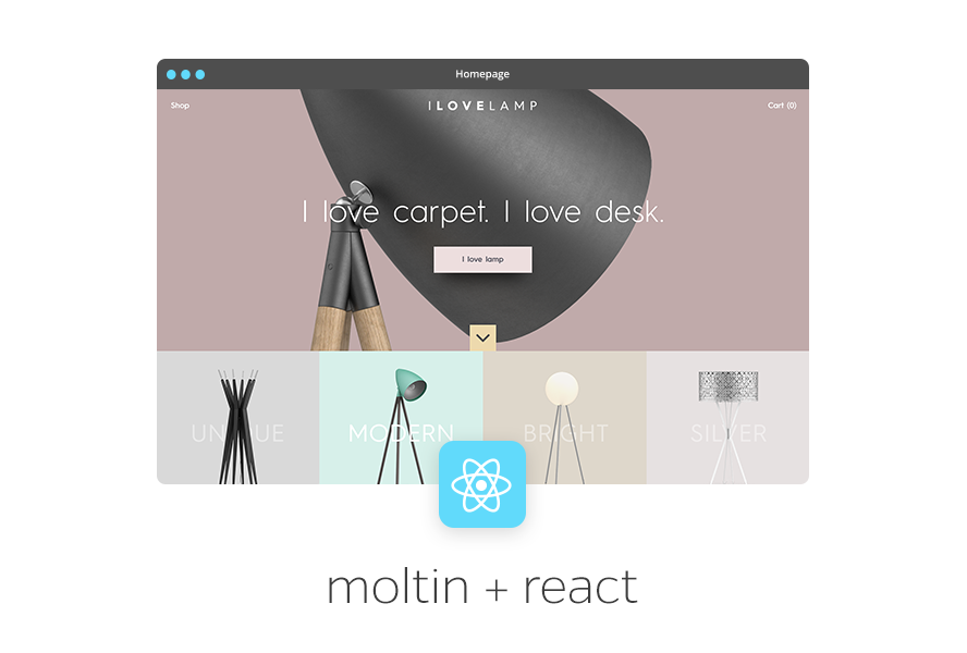 Moltin React Demo Store