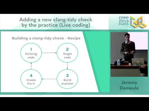 Adding A New clang-tidy Check Video