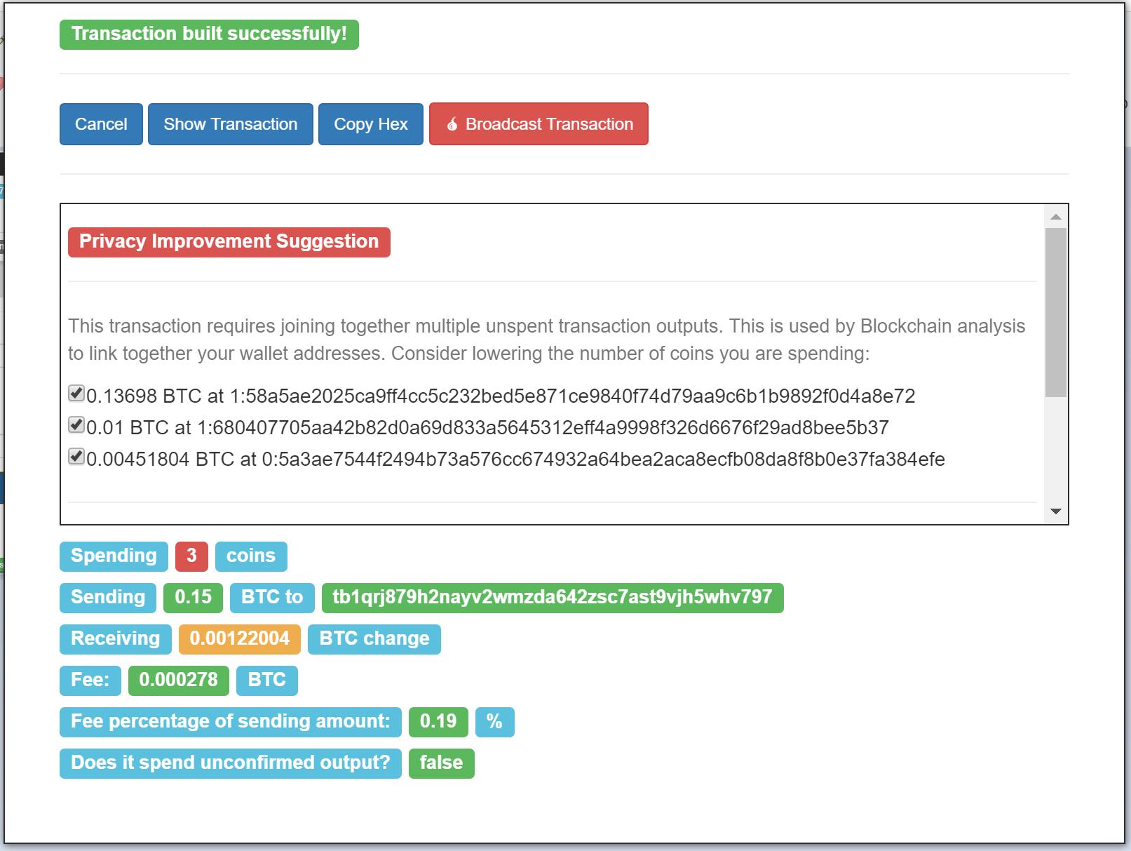 GitHub - nopara73/ZeroLink: The Bitcoin Fungibility Framework
