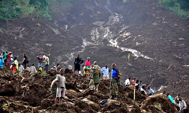Uganda mudslide
