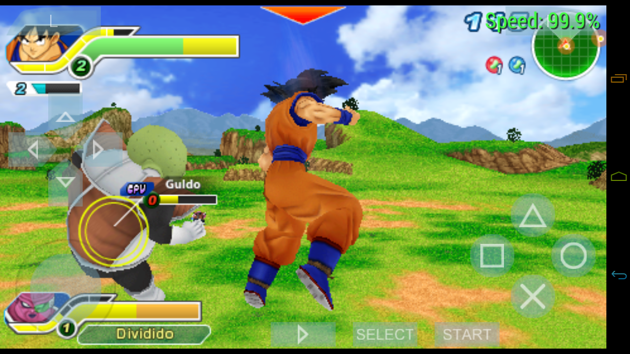 dragon ball games for android ppsspp