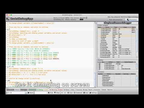 GitHub - JoaoLopesF/SerialDebug: Improved serial debug and simple