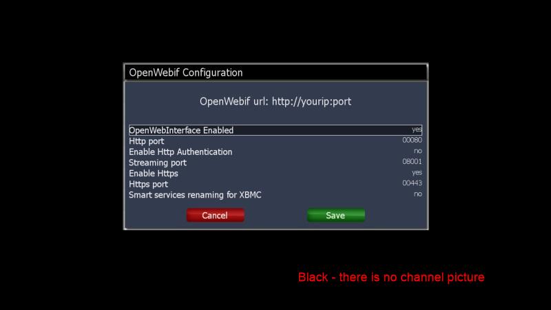 Openwebif Windows