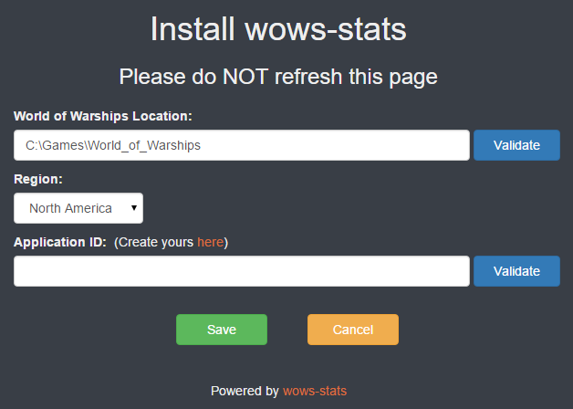 GitHub - wows-stats/wows-stats: Statistics engine for World