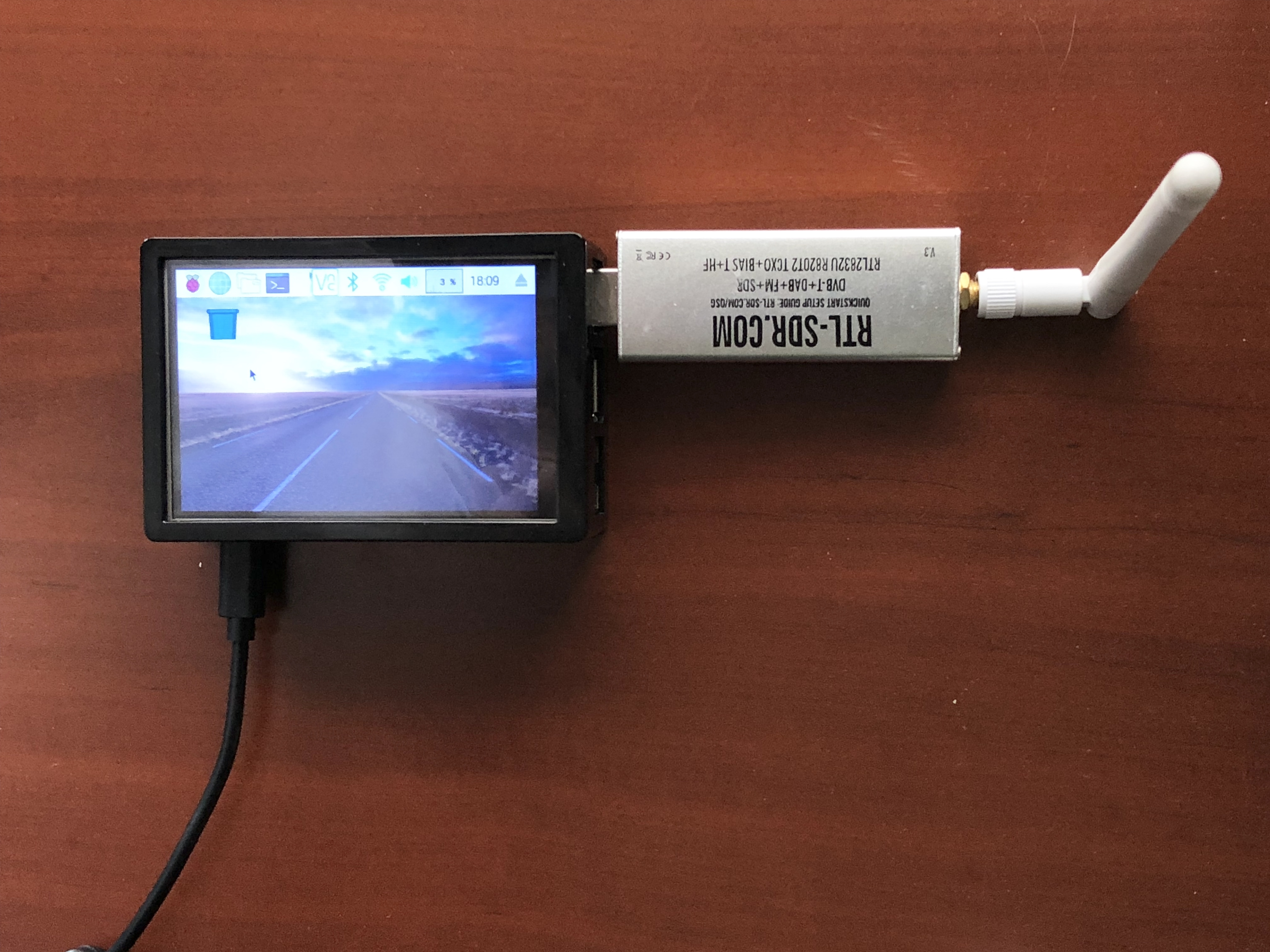 Pi Ground Station with LCD Display