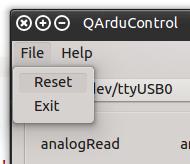 Software Reset Menu