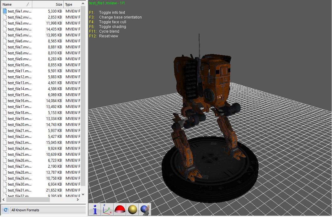 GitHub - majimboo/mviewer: Reverse Engineer MView 3D File Format