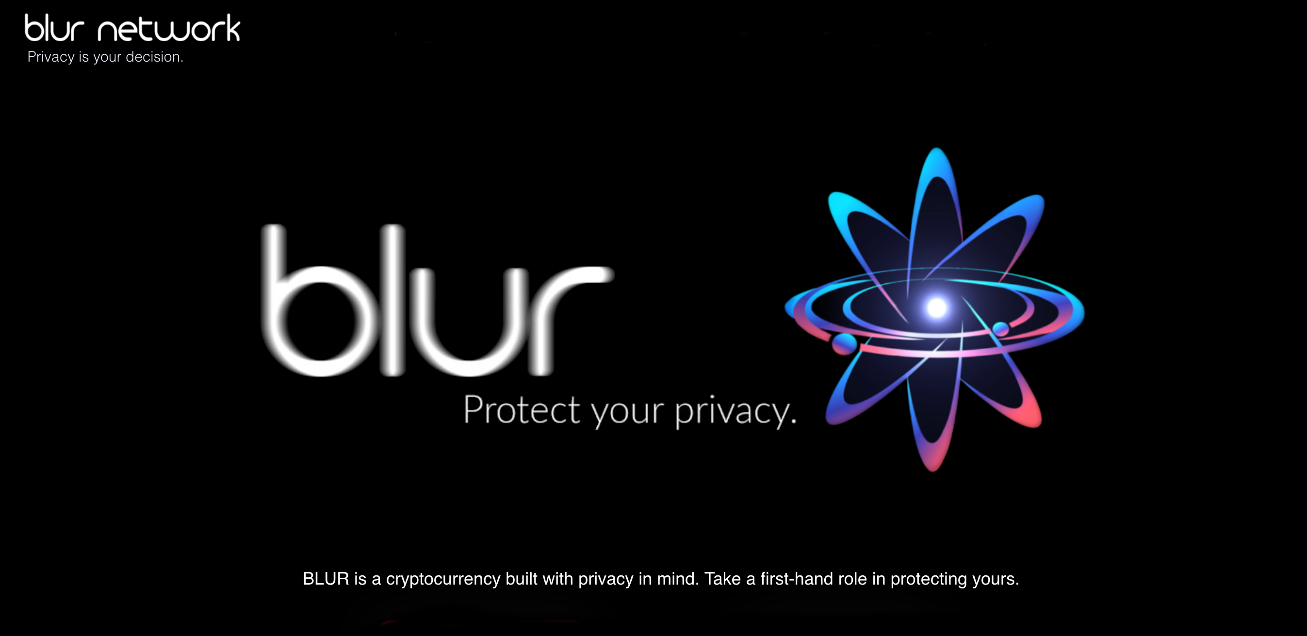 Blur: The Private Cryptocurrency