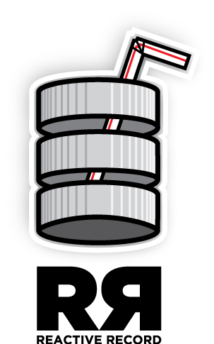 Reactive record logo
