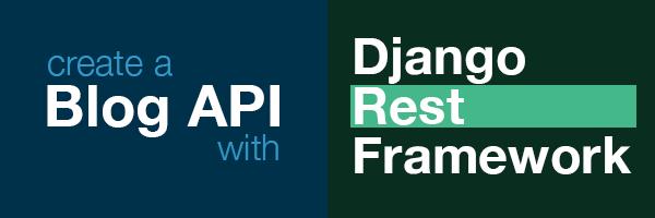 Blog API with Django Rest Framework Logo