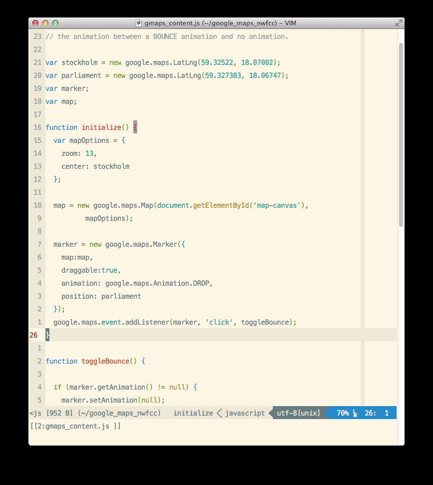 Enhanced JavaScript Vim syntax