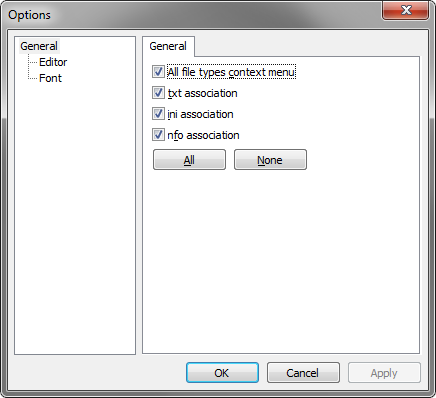 Void Image Viewer Options General