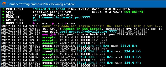 GitHub - BashkaPRO/xmrig-amd-nofee: Monero AMD (OpenCL) miner