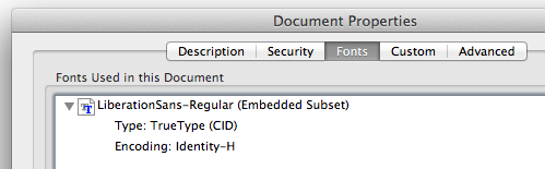 PDF using embedded fonts printing incorrectly when printed via auto