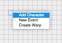add a character