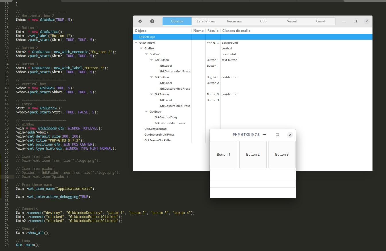 GTK interactive debugger