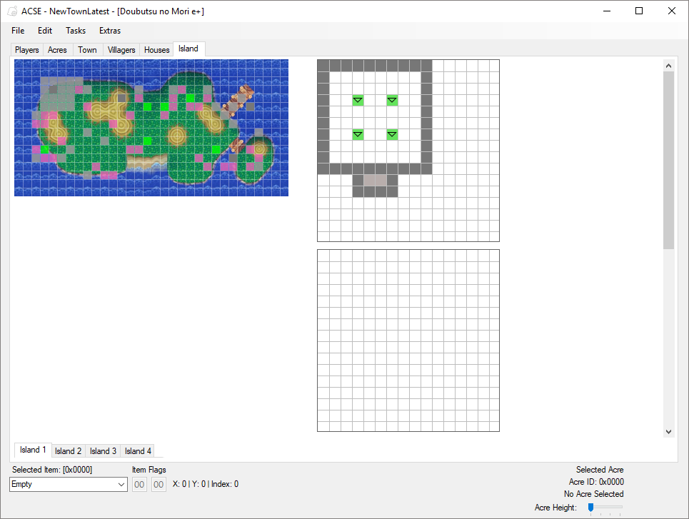 Github cuyler36acse a save editor for the animal crossing main island editor gumiabroncs Image collections